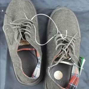 New men's sanuk vista tx canvas lace up shoes